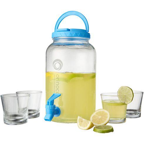 Festi 5 delige drink en dispenser set