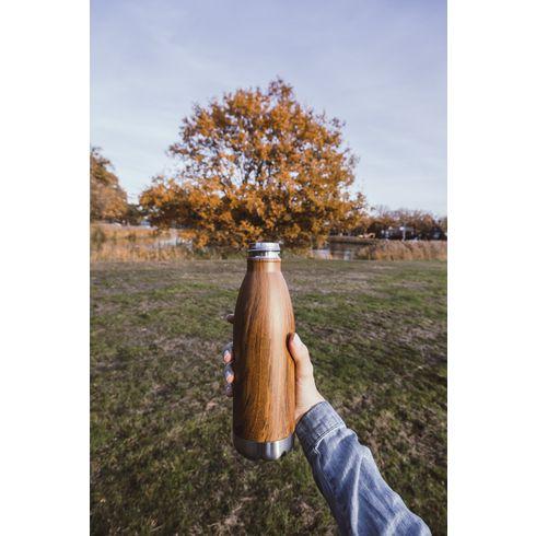 Topflask Wood 500 ml drinkfles