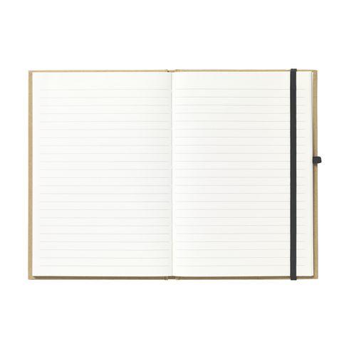 Bedrukte milieuvriendelijk A5 notitieboekje