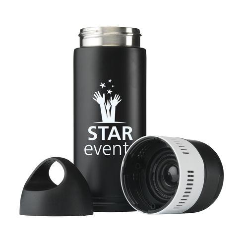 BottleBeatz Stainless Steel 2-in-1 thermosfles speaker