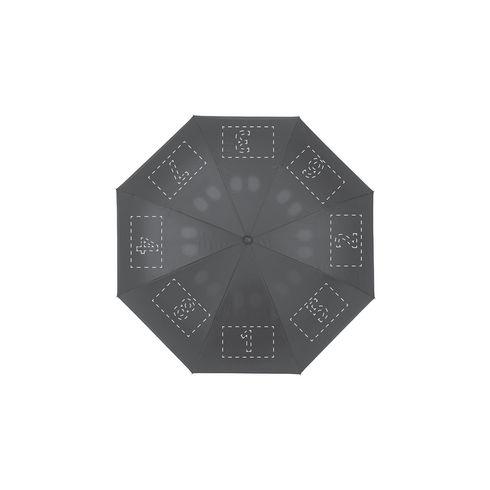 Bedrukte omkeerbare, sneldrogende paraplu