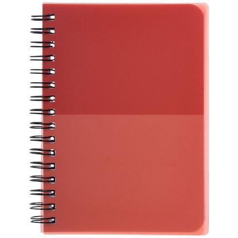 Colour-block A6 notitieboek met spiraal