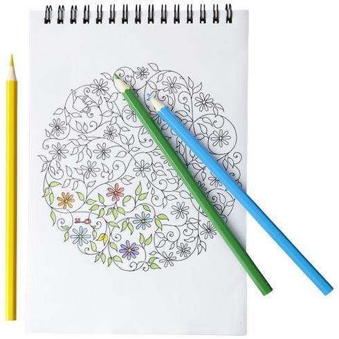 Set de coloriage Claude avec carnet