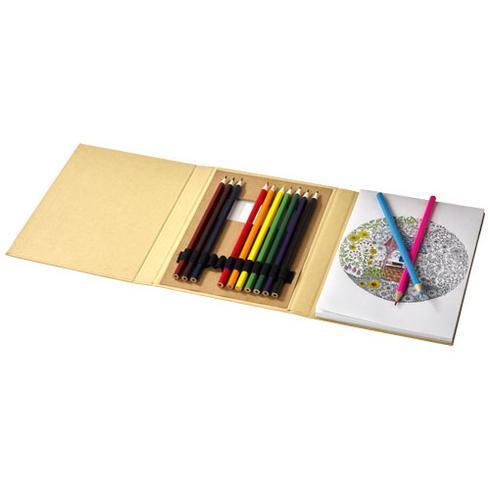 Set coloriage Pablo avec papier à dessin