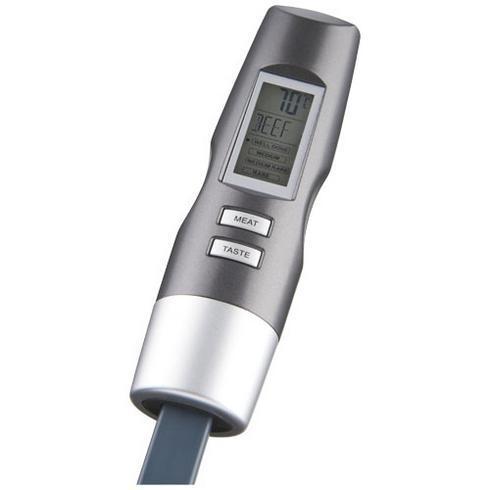 Wells digitale vork met thermometer