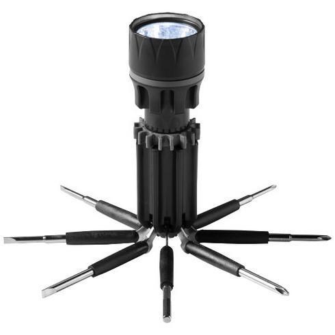 Spidey 8-in-1 schroevendraaier met zaklamp