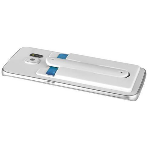 Stue siliconen telefoon kaarthouder met standaard
